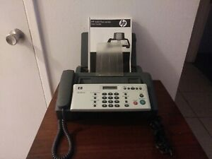 Hp 640 Fax Machine With Phone And User Guide barely Used Model Snprg 0701