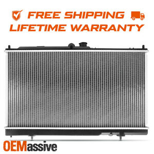 Fit Lifetime Warranty Radiator 2448 For 2002 2007 Mitsubishi Lancer 2 0l 2 4l L4