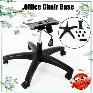 28 Office Chair Base Heavy Duty Swivel Chair Base With Rolling Casters Stools