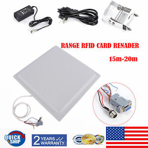 Ip65 Uhf Rfid 15m Long Distance Reader Car Access Control System windshield Tag