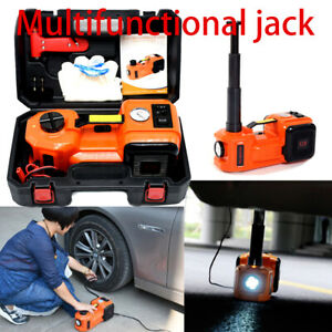 12v 5 0t Electric Hydraulic Jack Inflator Pump Multifunction Car Repair Tool Kit