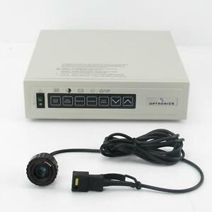 Optronics 60366 Ccd Microscope Camera Controller With Color C mount Camera