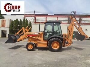 Case 580m Backhoe Wheel Loader Enclosed Cab 4x4