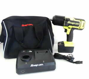 Mint Snap On Ct8850hv 18v Cordless Impact Wrench W Nylon Bag Battery