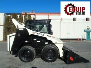 2013 Terex Tsv60 Wheel Skid Steer Loader Enclosed Cab Ac Only 600 Hours