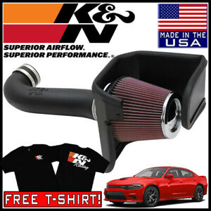 K N Aircharger Cold Air Intake System Fits 2011 2020 Dodge Charger 5 7l V8