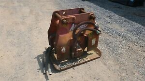 1997 Allied 9700 29 Plate Compactor