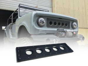1961 1971 International Scout 80 800 Modern Dimple Died Grille Insert