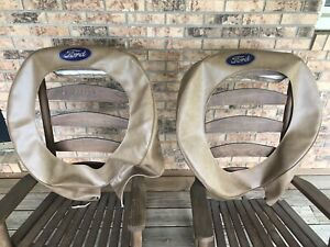 2 X 30 31 Model A Ford 19 Tan Spare Tire Cover Hot Rod 1929 1930 28 29 30