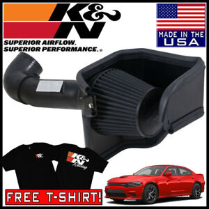 K n Blackhawk Cold Air Intake System Fits 2006 2019 Dodge Charger 5 7l 6 1l V8