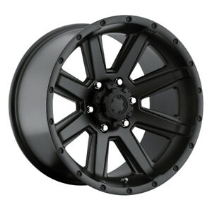 Ultra 195 Crusher Rim 18x10 6x5 5 Offset 25 Satin Black Quantity Of 4