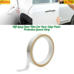 16ft Clear Film Car Door Edge Paint Anti scatch Protective Strip Guard Sticker