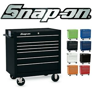 New Discounted Snap on 36 Seven drawer Single Classic Series Roll Cab Tool Box