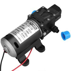 12v Dc 100w 8l min 160psi High Pressure Diaphragm Self Priming Water Pump Us