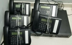 Panasonic Kx ns700 Hybrid Pbx System With 5x Panasonic Kx dt543 Telephones
