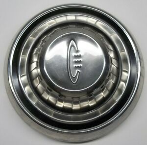 1960 S Thru 1970 S Mopar Chrysler 9 Inch Dog Dish Poverty Hubcap Vintage