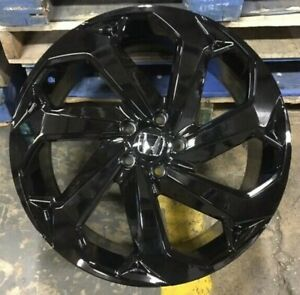 20 2018 Lx Accord Touring Style Gloss Black Wheels Rims Fits Honda Civic 20x8 5