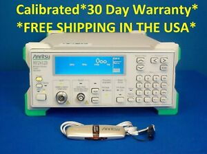 Anritsu Mf2412b Microwave Frequency Counter 10 Hz To 20 Ghz