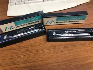 Two 2 Midwest Quiet Air Dental Handpieces