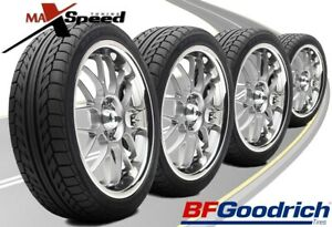 Qty Of 4 Bf Goodrich G Force Sport Comp 2 245 40zr18 93w Performance Tires