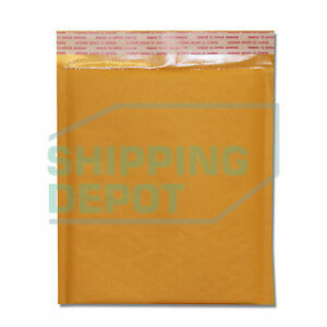 200 dvd 7 5x10 Kraft Bubble Mailers Self Seal Envelopes 7 5 x10 Secure Seal