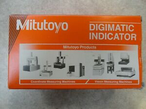New Mitutoyo Solar Digimatic Digital Indicator 0 0 5 0 12 7mm Lug Back 543 507