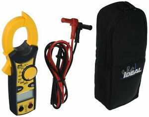 Ideal 61 744 600 Amp Clamp pro Clamp Meter