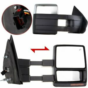 Scitoo Fit 2004 14 Ford F150 Truck Left right Cover Side Mirror Power Heated Le