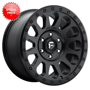 Fuel Vector D579 Rim 17x8 5 6x139 7 Offset 7 Matte Black Quantity Of 4