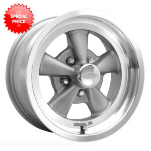 Special Cragar 610g G t Rim 17x7 5x5 Et 6 Gray Spoke machined Lip qty Of 4