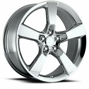 Factory Reproductions Fr 30 Ss Camaro Rim 20x9 5x4 75 Offset 40 Chrm Qty Of 4