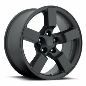 Factory Reproductions Fr 50 Ford Lightning 20x9 5x135 Offset 8 Blk Qty Of 4