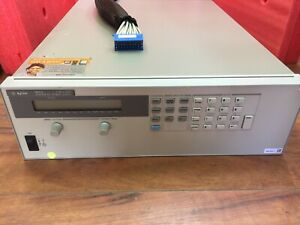 Hp Agilent Keysight 6671a 0 8v 0 220a Programmable Dc Power Supply