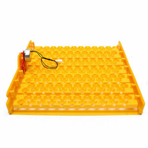154 Eggs Quail Turner Tray Container For Hatching Incubator With 110v Automatic