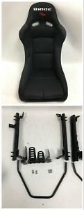 Bride Vios Iii 3 Low Max Black Pair Bucket Racing Seats For Acura Integra Dc2 Dc