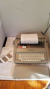 Brother Sx 4000 Electronic Dictionary Typewriter Auto Correct Tested works