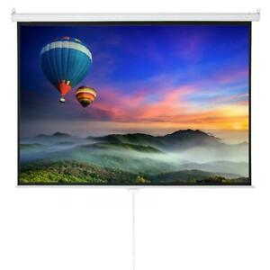 Multi use 100 Hd 4 3 Projector Projection Screen 4k 3d Manual Pull Down