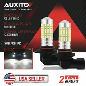 2x Auxito 9005 Cree Led Daytime Running Light Bulb Fit For 2004 2012 Honda Civic