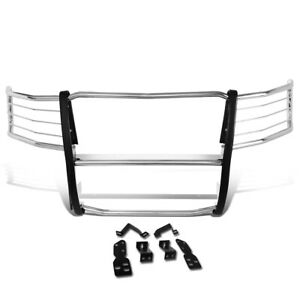 Fit 07 13 Chevy Silverado 1500 Stainless Steel Front Bumper Grille Brush Guard