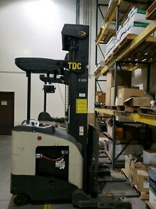 3 Available Electric Reach Truck 2008 Crown Rr5225 45 With 2017 2018 Batteries