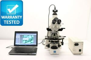 Zeiss Axioplan Fluorescence Phase Contrast Microscope
