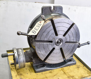 12 Rotary Table Yuasa Model 550 052 ctam 4538