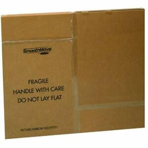 Smoothmove Tv picture mirror Box Mailers Moving Box Adjustable 40 60 Inches 3