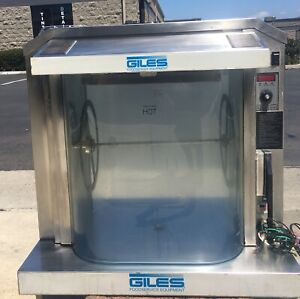 Giles Rt 5 Electric Rotisserie Oven Commercial Hot Case Bbq Chicken And Ribs