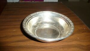 Antique Wallace Sterling Silver Candy Nut Bowl 110 56 Grams