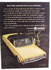 1965 Chrysler Newport Ad Must See