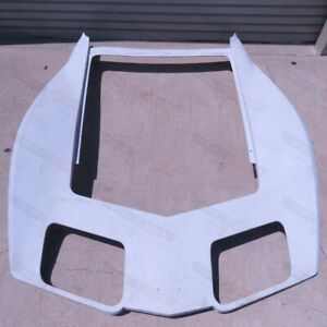Corvette Nos Smc Fiberglass Front Nose Hood Surround Panel 1980 1982