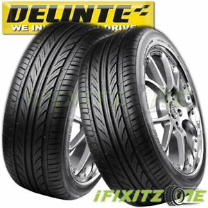 2 Delinte Thunder D7 225 40zr18 92w Ultra High Performance Tires 225 40 18