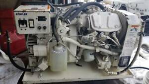 Kohler 4cz23 4 Kw Marine Gas Generator 60 Hz With Sound Shield