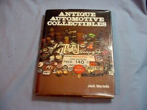Antique Automotive Collectibles Book By Jack Martells Spark Plug Radiator Emblem
